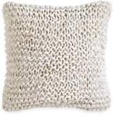 "DKNY City Pleat Ribbon Decorative Pillow, 14"" x 14"""