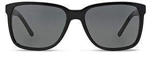 Burberry Men's Honey Check Square Sunglasses, 56mm