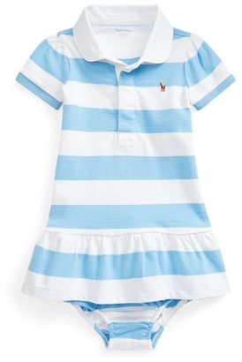 Ralph Lauren Striped Rugby Dress & Bloomer