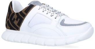 Fendi Kids Monogram Sneakers