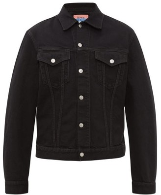 Acne Studios 1998 Overdyed-denim Jacket - Mens - Black