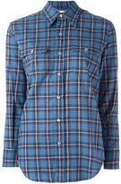 Saint Laurent 70's collar Western shirt