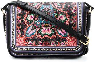 Etro Ornate Floral-Print Crossbody Bag