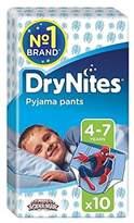 Huggies 4-7 years DryNites For Boys 10 per pack - Pack of 6