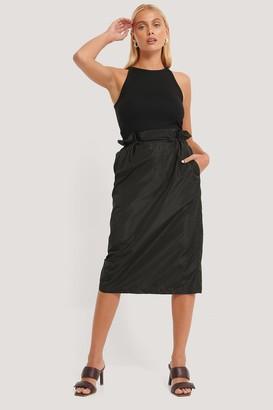 NA-KD Track Drawstring Skirt