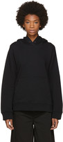 MM6 MAISON MARGIELA Black Basic Hoodie