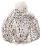 Surell Rabbit Fur Beanie
