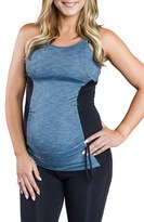 Cozy Orange Women's 'Asana' Athletic Maternity Tank
