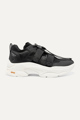 Brandblack + Pushbutton Specter Ripstop And Neoprene Sneakers - US4.5