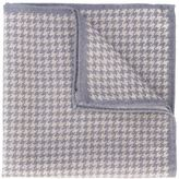 Eleventy houndstooth pocket square - men - Wool - One Size