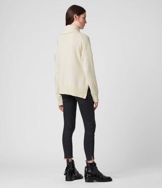 AllSaints Witby Zip Sweater