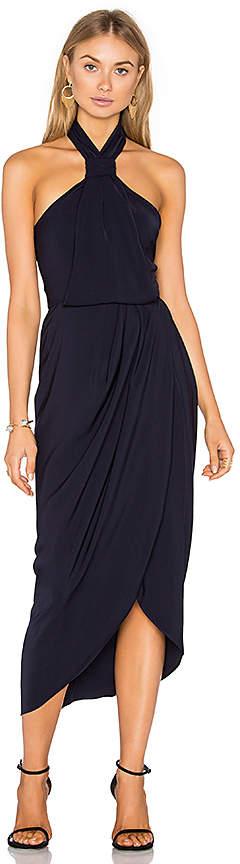 Shona Joy Knot Draped Dress