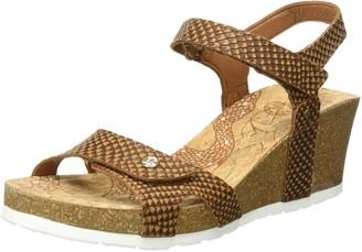Panama Jack Julia Snake Womens Wedge Heels Sandals