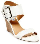 Steve Madden Winston Leather Wedge Heel Sandals