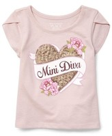 The Children's Place Short Sleeve Tulip Sleeve Top (Baby Girls & Toddler Girls)