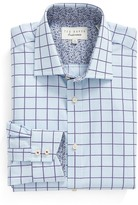 Ted Baker Redsing Check Trim Fit Dress Shirt
