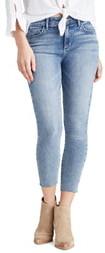 Sam Edelman The Kitten Raw Hem Crop Skinny Jeans
