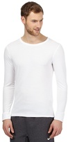 Maine New England White Long Sleeved Thermal Top