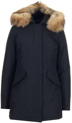Woolrich Fur Trim Hooded Arctic Parka