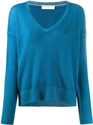 Majestic Filatures V-neck cashmere jumper