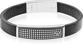 Emporio Armani Iconic Stainless Steel And Rubber Men's Bracelet