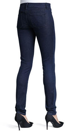 Tory Burch Rinsed Denim Leggings