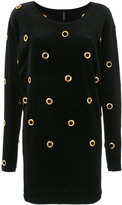 Alexandre Vauthier eyelet sweatshirt dress