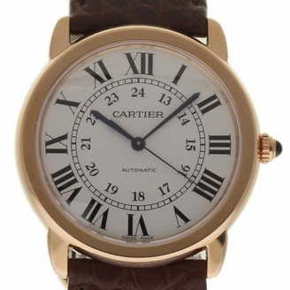 Cartier Ronde Solo White gold and steel Watches