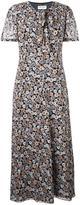 Saint Laurent floral print dress - women - Silk - 40