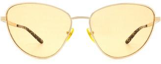 Gucci Gg0803s Gold Sunglasses