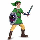 Asstd National Brand The Legend Of Zelda Link 4-pc. Zelda Dress Up Costume