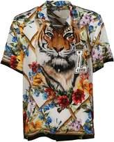 Dolce & Gabbana Dolce Gabbana Printed Polo Shirt