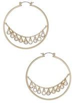 Ettika Women's Disc Hoop Earrings