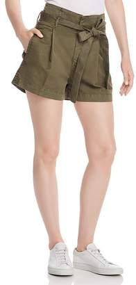 DL1961 Camile Paper-Bag Waist Shorts