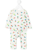 Stella McCartney pineapple print pyjama set - kids - Cotton - 9 mth