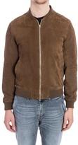 Jeordie's Leather Bomber Jacket