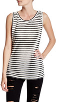 BB Dakota London Striped Linen Tank