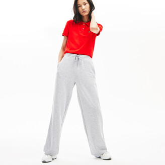 Lacoste Women's Cotton Fleece Track Pants