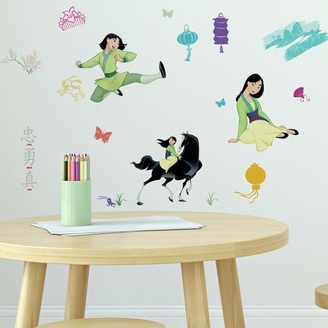 Room Mates RoomMates Mulan Peel and Stick Wall Decals