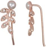 Lauren Conrad Rose Gold Toned Branch Earrings