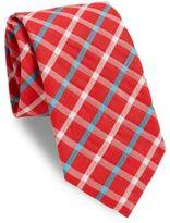 Thomas Pink Woolsey Checked Italian Silk Tie