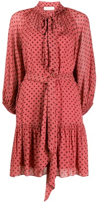 Zimmermann long-sleeve shift dress