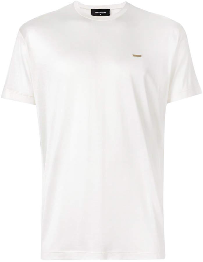 DSQUARED2 logo plaque T-shirt