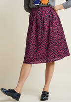 Compania Fantastica With Love A-Line Skirt in XS - Full Skirt Mid by Compania Fantastica from ModCloth