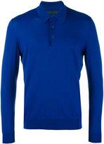 Kiton longsleeved polo shirt - men - Wool - M