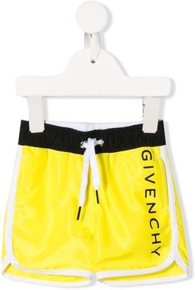 Givenchy Kids Drawstring Swim Trunks