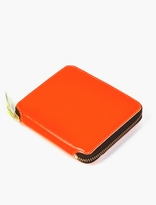 Comme Des Garcons Wallet Orange Super Fluo Wallet