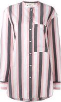 Ports 1961 striped shirt - women - Cotton/Cupro - 40
