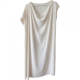 Eres White Synthetic Dresses