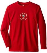 VISSLA Kids - Everyday Long Sleeve Surf Tee UPF 50 Boy's T Shirt